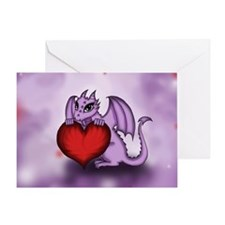 Chibi Dragon Alexia Greeting Card
