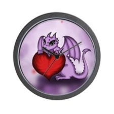 Chibi Dragon Alexia Wall Clock