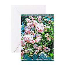 Rose of Sharon Hibiscus Greeting Card