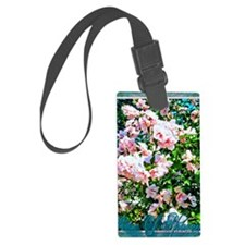 Rose of Sharon Hibiscus Luggage Tag