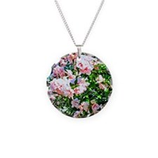 Rose of Sharon Hibiscus Necklace