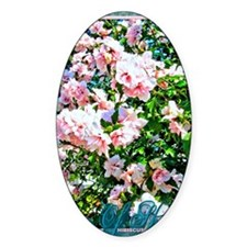 Rose of Sharon Hibiscus Decal
