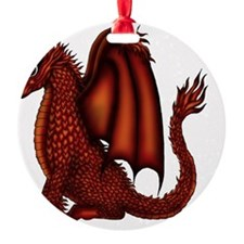 Fire Dragon Ornament