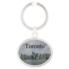Toronto, Ontario Canada Magnet Oval Keychain