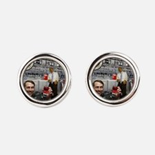 The NIA & The Government Koolaid Scandal Cufflinks