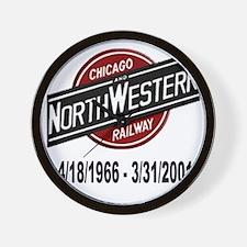 logoCNWRailway Wall Clock