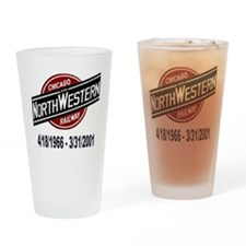 logoCNWRailway Drinking Glass