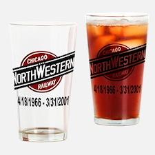 logoCNWRailway Drinking Glass