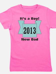 2013 New Dad of Boy Girl's Tee