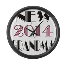 2014 New Grandma Large Wall Clock