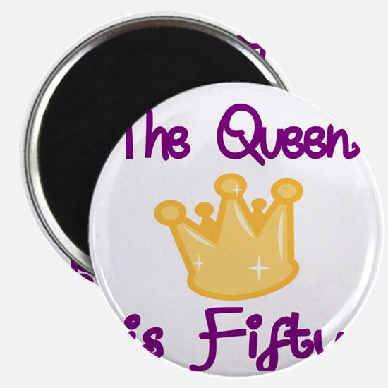 THE QUEEN IS FIFTY 4 Magnet