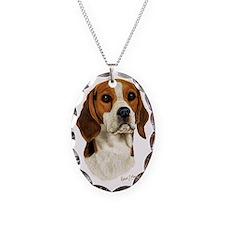Beagle Head 3 Necklace