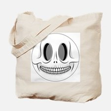 Skull Smiley Face Tote Bag
