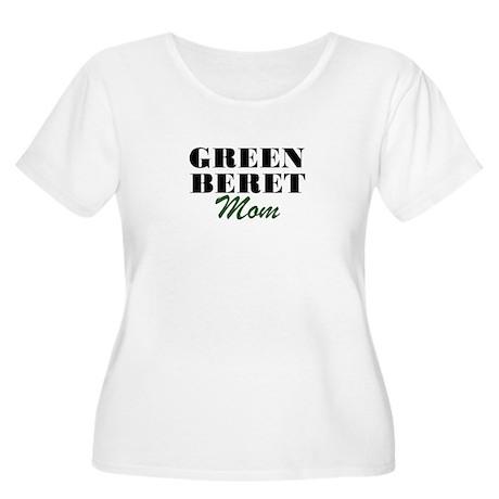 Green Beret Mom Women's Plus Size Scoop Neck T-Shi