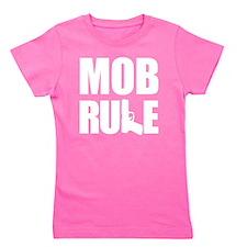 Mob Rule Hand Gun Girl's Tee