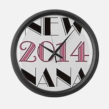 2014 New Nana Large Wall Clock