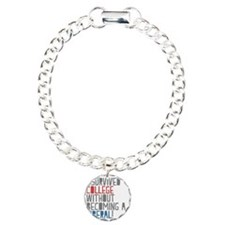 Isurvived Charm Bracelet, One Charm