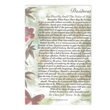 Bamboo  Butterflies Desid Postcards (Package of 8)