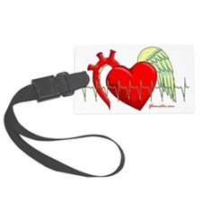 Heart Surgery Survivor Luggage Tag