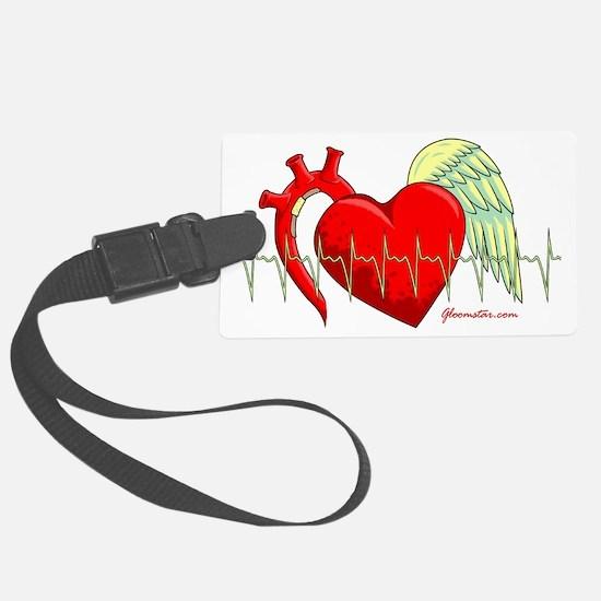 Heart Surgery Survivor Luggage Tag