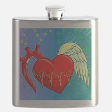 Heart Surgery Survivor Full Flask