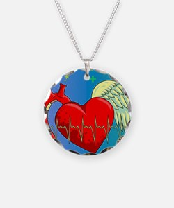 Heart Surgery Survivor Full Necklace