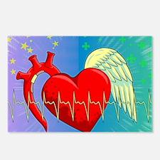 Heart Surgery Survivor Fu Postcards (Package of 8)