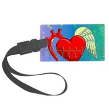 Heart Surgery Survivor Full Luggage Tag