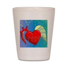 Heart Surgery Survivor Full Shot Glass