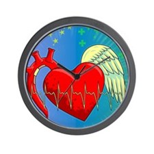 Heart Surgery Survivor Full Wall Clock