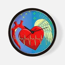 Heart Surgery Survivor Full Wall Clock