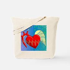 Heart Surgery Survivor Full Tote Bag