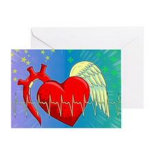 Heart Surgery Survivor Full Greeting Card