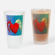 Heart Surgery Survivor Full Drinking Glass