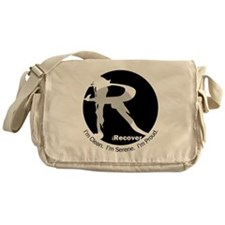 iRecover - Clean. Serene. Proud Messenger Bag