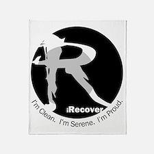iRecover - Clean. Serene. Proud Throw Blanket