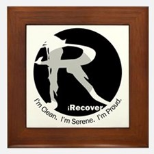 iRecover - Clean. Serene. Proud Framed Tile