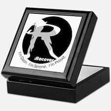 iRecover - Clean. Serene. Proud Keepsake Box