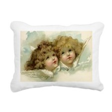 Vintage Victorian Christ Rectangular Canvas Pillow