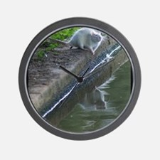 Getting My Drink On Wall Clock