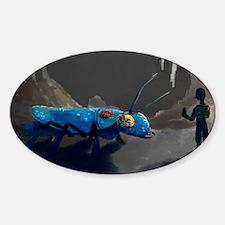 Rune Miner Concept Art Sticker (Oval)
