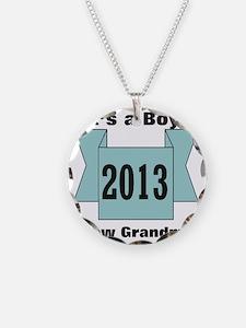 2013 New Grandma of Boy Necklace