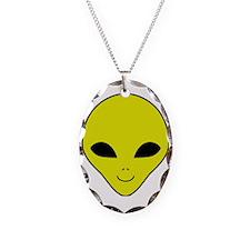 Alien Smiley Face Necklace
