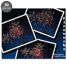 Fireworks Calendar Cover Puzzle