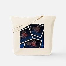 Fireworks Calendar Cover Tote Bag