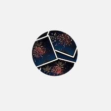 Fireworks Calendar Cover Mini Button