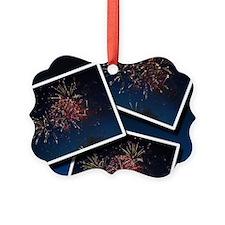 Fireworks Calendar Cover Ornament