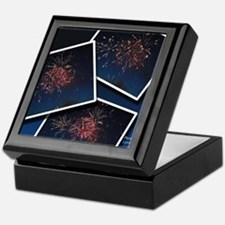 Fireworks Calendar Cover Keepsake Box