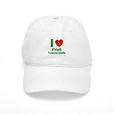 I Love Friulilla Venezia Glul Baseball Cap
