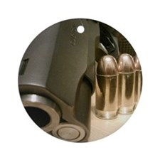 .45 Up Close Round Ornament